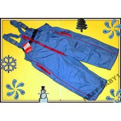 Spodnie ocieplane do Kombinezonu 92(2L)niebieski