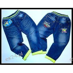 *NOWOŚĆ* SPORT CARS Spodnie jeans 104/110(5)