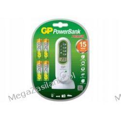 Ładowarka 15 minutowa GP PowerBank + 4xAA 2600mAh