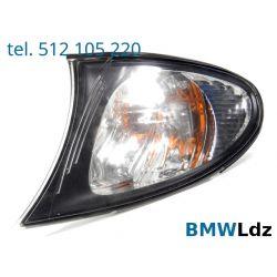 KIERUNKOWSKAZ MIGACZ LEWY PRZÓD BMW E46 LIFT 01-