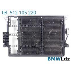 CHŁODNICA RAMKA KLIMATYZACJI BMW E39 520i 523i 525 Chłodnice klimatyzacji