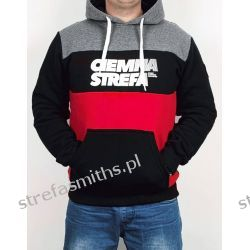 Bluza CS RPK melanż/czarny/czerwony (kaptur/kangur)