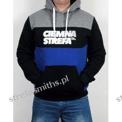 Bluza CS RPK melanż/czarny/chaber (kaptur/kangur)