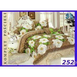3cz. POŚCIEL 3D bawełna satynowa 160x200