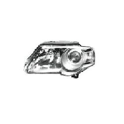 Lampa przednia, reflektor świateł przednich VOLKSWAGEN PASSAT, SDN+KOMBI (B6 (3C)), 01.05- LEWA Kompletne zestawy