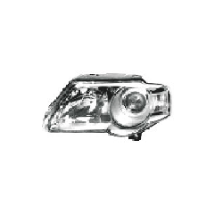 VALEO lampa przednia, reflektor świateł przednich VOLKSWAGEN PASSAT, SDN+KOMBI (B6 (3C)), 01.05- LEWA