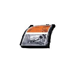 Lampa przednia, reflektor świateł przednich FORD FUSION (JUS), 09.05 - LEWA Kompletne zestawy