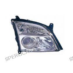 REFLEKTOR OPEL VECTRA 04/02-07/05 H7+H7 WERSJA CHROMOWANA REGULACJA ELEKTRYCZNA LEWY 334981 AP Lampa przednia  Pozostałe