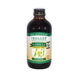 Frontier Natural Products, Fair Trade Vanilla Flavor, Alcohol Free, 4 fl oz (118 ml) - iHerb.com