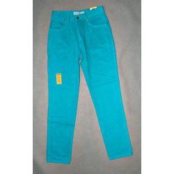 spodnie dżinsy, wysoki stan STRESS, pas 64 cm