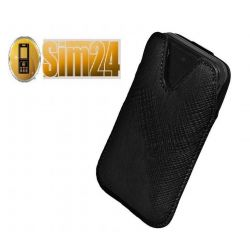 Etui na telefony Milano S8530 Wave II - czarne