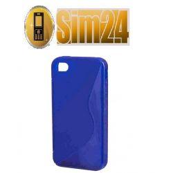 pokrowiec na LG L5/E610 niebieski
