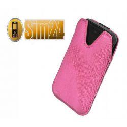 Etui na telefony Milano Lumia 800, One X - różowe