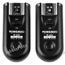Yongnuo RF-603 C3 do Canon EOS 7D,  5D,  50D,  40D,  30D,  20D,  5D Mark II