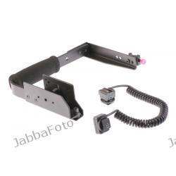 Bracket typ C + kabel synchro Olympus FL-CB05