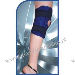 Stabilizator  magnetyczna na kolano-kolor biały