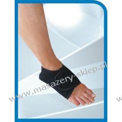 Opaska magnetyczna na stopę - kolor biały