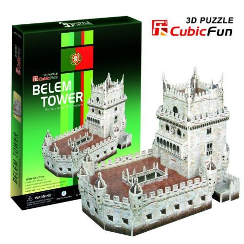 BELEM TOWER - PUZZLE 3D
