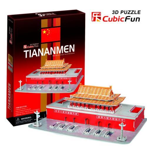 Cubic Fun TIANANMEN - PUZZLE 3D
