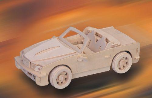 BMW -DREWNIANE PUZZLE PRZESTRZENNE 3D