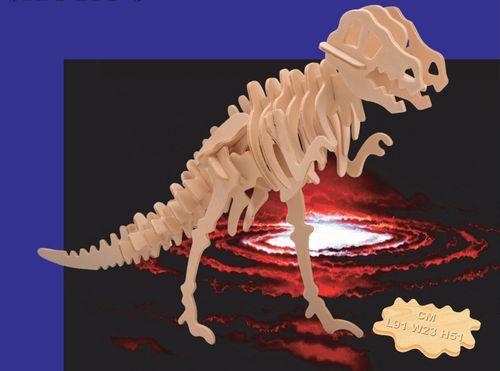 METROWY TYRANOSAURUS - PUZZLE DREWNIANE 3D