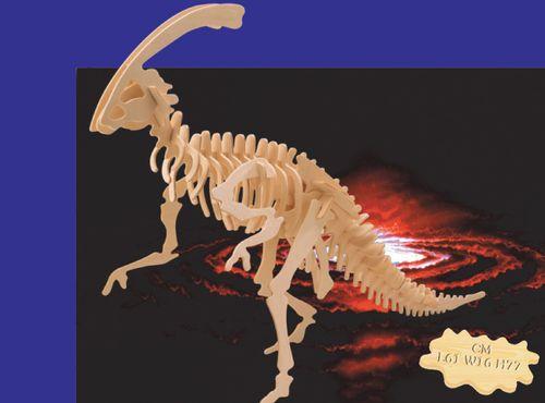 OGROMNY PARASAUROLOPHUS - PUZZLE  DREWNIANE 3D