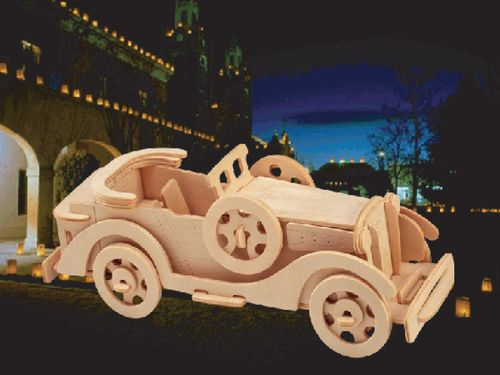 PACKARD - DREWNIANE PUZZLE 3D