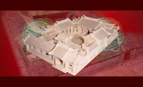 PAŁAC CESARSKI - PUZZLE  PRZESTRZENNE 3D