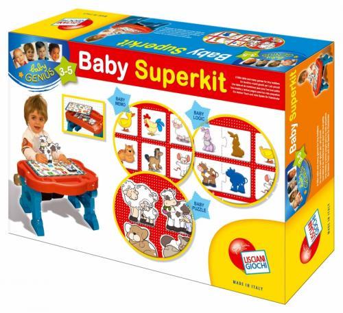 Liscianigiochi BABY GENIUS Stolik edukacyjny 3 - 5 lat