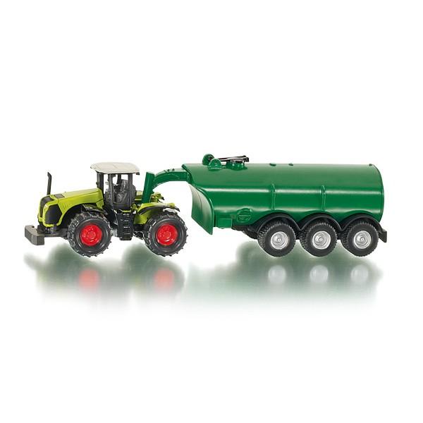 SIKU Traktor Claas Xerion z przyczepš Samson SG