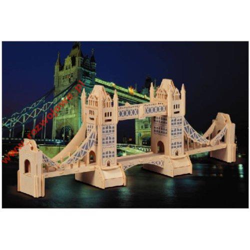 MOST TOWER BRIDGE -PUZZLE  DREWNIANE  3D