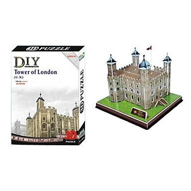 TOWER of LONDON - PUZZLE 3D Calebou
