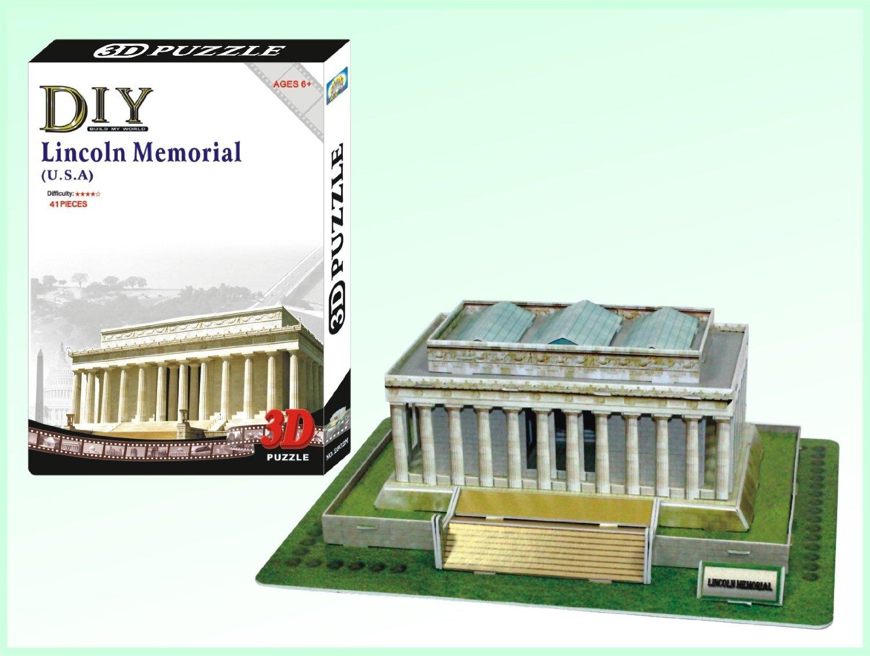 LINCOLN MEMORIAL - PUZZLE 3D Calebou