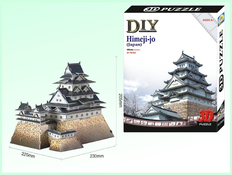 Zamek  HIMEJI-JO - PUZZLE 3D Calebou