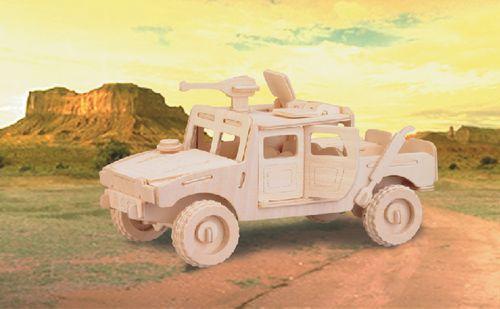 HUMMER - DREWNIANE PUZZLE PRZESTRZENNE 3D