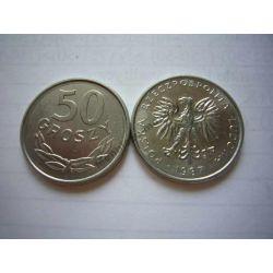 50 gr groszy 1987 mennicza mennicze Monety groszowe