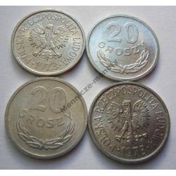 20 gr groszy 1973 zzm mennicza mennicze Monety groszowe