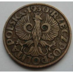 5 gr. groszy 1930 ładna