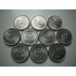 2 gr grosze 1949 mennicze mennicza menniczy Monety groszowe