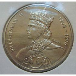 100 zł Przemysław II 1985 mennicza próba niklowa