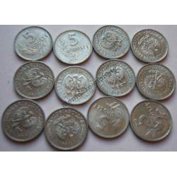 5 gr groszy 1967 mennicza mennicze Monety groszowe