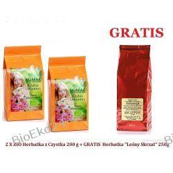 """BIO Herbatka z Czystka 200 g + GRATIS Herbatka """"Leśny Skrzat"""" 250g"""