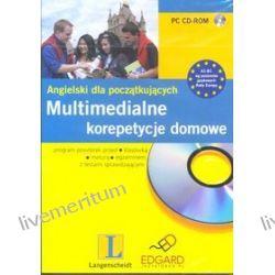 Multimedialne korepetycje domowe. Angielski dla początkujących CD-ROM