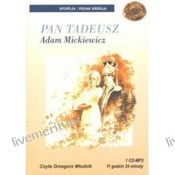 Pan Tadeusz - książka audio na 1 CD (CD) - Adam Mickiewicz