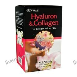 FINE USA Trading, Inc. - Hyaluron and Collagen Powder - 30 Stick(s)