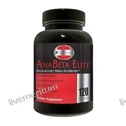 PES: Physique Enhancing Science - AnaBeta Elite Revolutionary Mass Accelerator - 120 Capsules