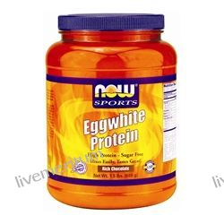 NOW Foods - Eggwhite Protein Rich Chocolate - 1.5 lbs.