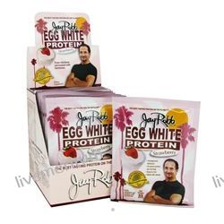 Jay Robb - Egg White Protein Powder Strawberry - 12 Packet(s)