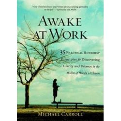 Awake at Work, 35 Practical Buddhist Principles for Discovering Clarity and Balance in the Midst of Work's Chaos by Michael Carroll, 9781590302729. Po angielsku