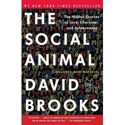 The Social Animal, The Hidden Sources of Love, Character, and Achievement by David Brooks, 9780812979374. Po angielsku